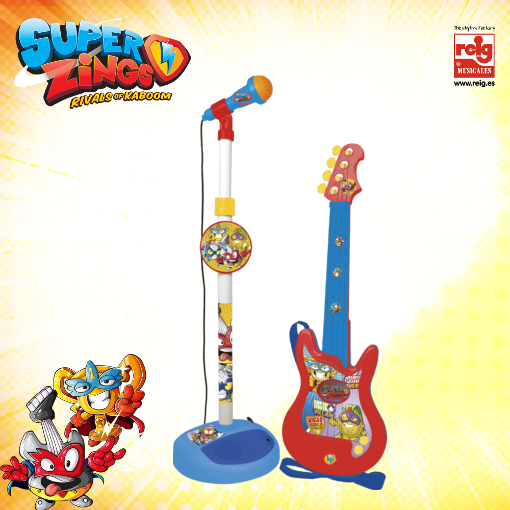 2420  GUITAR AND MICROPHONE SET