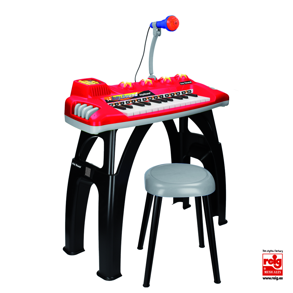 2844  ELECT.25 KEYS KEYBOARD ODISEA WITH STAND