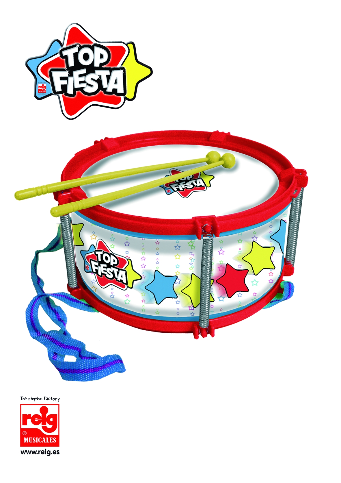 3106  21,5CM DRUM WITH PLASTIC BAG AND HOLDER