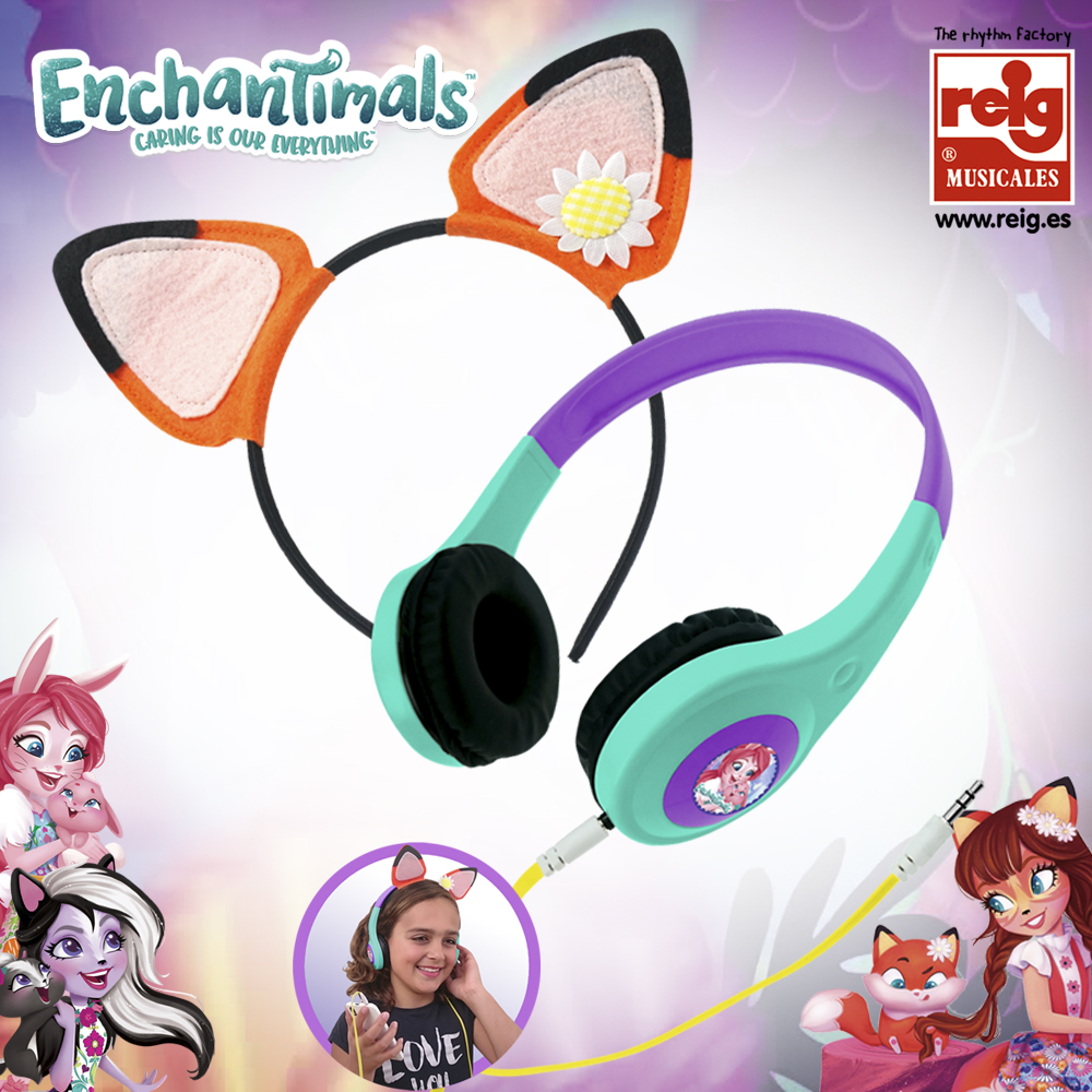 4468  AURICULARES ECHANTIMALS