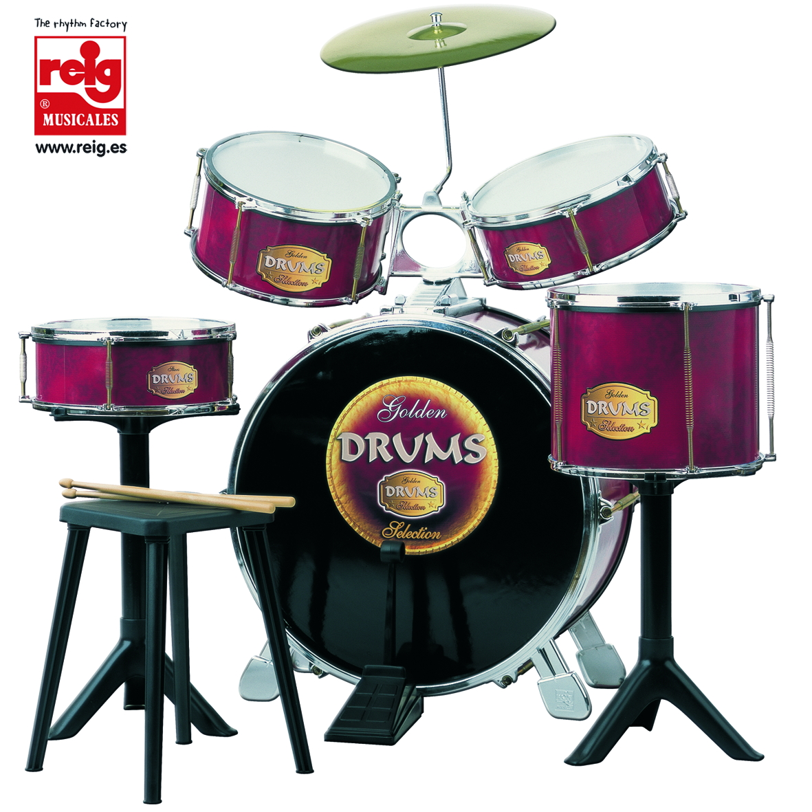 726  GRAN BATERIA GOLDEN DRUMS