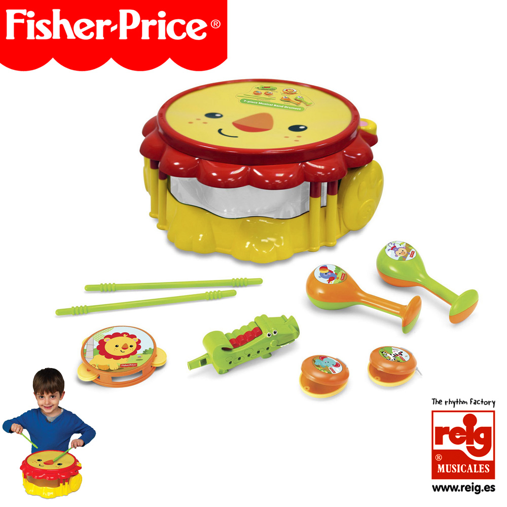 KFP2178  LION MUSICAL BAND DRUMSET